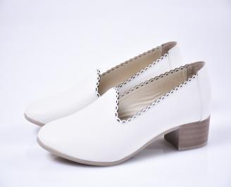 Дамски  обувки- Гигант естествена кожа бежови DDNN-1012323