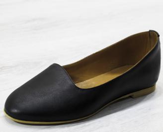 Дамски обувки -Гигант естествена кожа черни CJID-26548