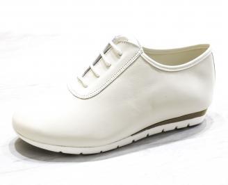 Дамски обувки Гигант равни естествена кожа бежови DTMZ-26508