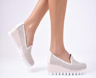 Дамски обувки на платформа еко кожа розови WHRF-1012344