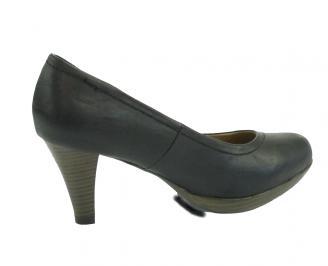 Дамски обувки от еко кожа черни TMSU-10705