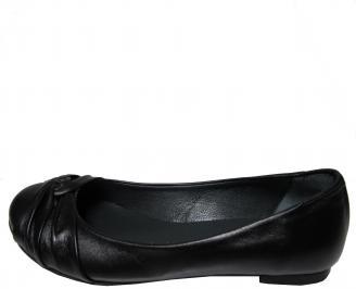 Дамски обувки от естествена кожа Гигант черни LSGF-15713