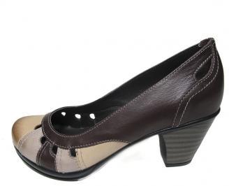 Дамски обувки от естествена кожа EXYD-16102