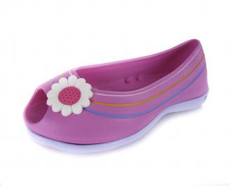 Дамски обувки розови -пяна WKIL-16937