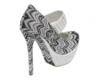 Дамски обувки текстил шарени SYUM-10527