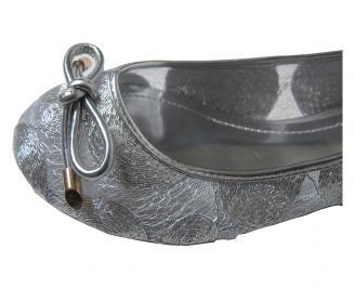Дамски обувки текстил сребристи SRAG-15891