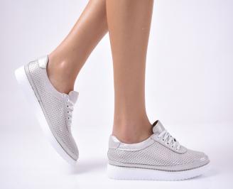 Дамски  равни обувки бежови RMUH-1013555