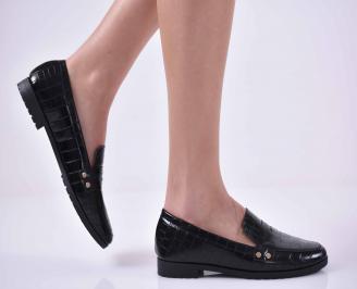 Дамски равни обувки  черни ZGMD-1014800