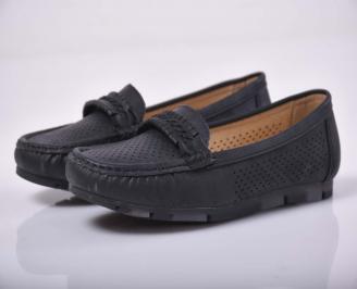 Дамски равни обувки черни  YASC-1015222