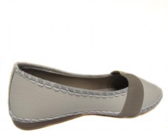 Дамски равни обувки еко кожа бежови WFMB-20231
