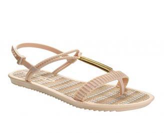 Дамски равни  сандали бежови NQGV-27406