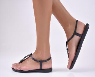 Дамски равни  сандали черни PHDO-1012371