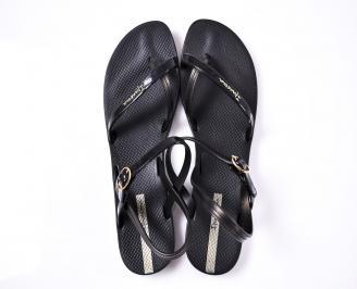 Дамски равни  сандали черни JDTM-1012390