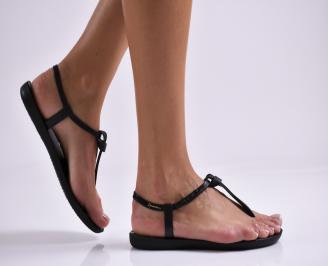 Дамски равни  сандали черни RDMH-27325