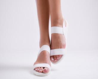 Дамски равни  сандали еко кожа светла пудра SOXH-24448