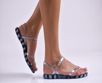 Дамски равни  сандали  сини SKSD-27330
