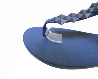Дамски равни силиконови сандали Ipanema тъмно сини JHFB-21665