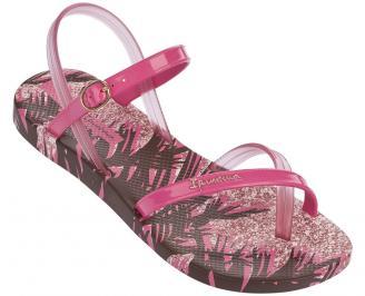 Дамски равни силиконови сандали Ipanema розови NEBR-24327