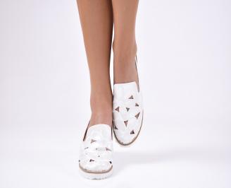 Дамски сандали  еко кожа сиви BHPK-1012347