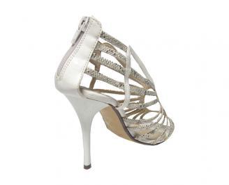 Дамски сандали еко материали бежови BEET-13486