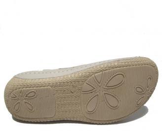 Дамски сандали Гигант бежови естествена кожа TWAC-21704