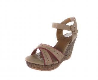 Дамски сандали на платформа еко кожа GKYV-16574