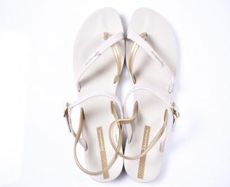 Дамски сандали силикон бежови UPIY-1012378