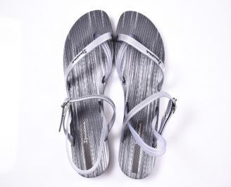 Дамски сандали силикон сиви IOBV-1012387