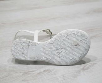 Дамски сандали силиконови бели BDCZ-24794