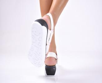 Дамски сандали  текстил бежови FXFN-1012653