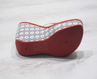Дамски силиконови чехли Ipanema  червени YLJF-24783