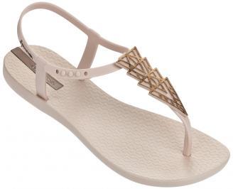 Дамски силиконови сандали Ipanema бежови VEES-24329