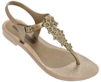 Дамски силиконови сандали Ipanema бежови XQHO-24359
