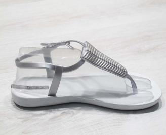 Дамски силиконови сандали Ipanema бели CKCB-24791