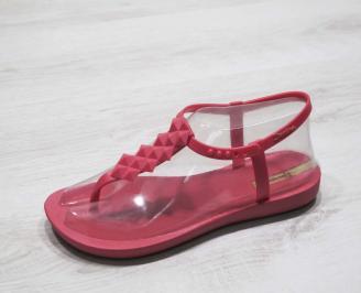 Дамски силиконови сандали Ipanema розови GBMX-24795