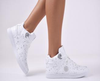 Дамски спортни  обувки  бели RVAC-1012749