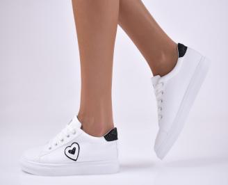 Дамски спортни  обувки  бели PSMM-1012760