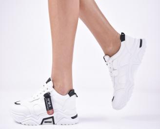 Дамски спортни  обувки  бели ERZH-1013257