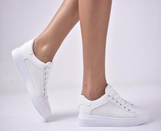 Дамски спортни  обувки  бели QOMY-1013272