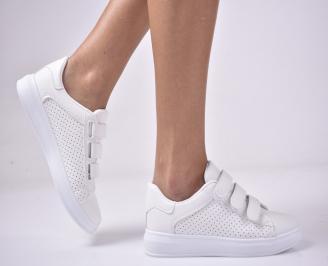 Дамски спортни  обувки  бели HISQ-1013283