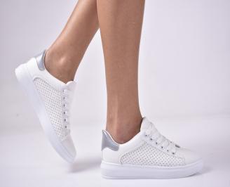 Дамски спортни  обувки  бели KNNH-1013284