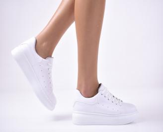Дамски спортни  обувки  бели XMGH-1013519