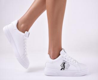 Дамски спортни  обувки  бели GUNA-1013905
