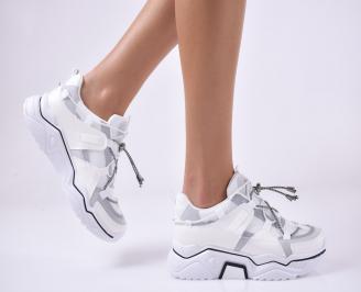 Дамски спортни  обувки  бели TOWH-1013946