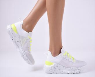 Дамски спортни обувки бели. UPTU-1014024