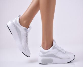 Дамски спортни обувки бели. EPKG-1014029