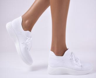 Дамски спортни обувки бели. GXJV-1014075