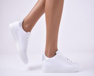 Дамски спортни обувки бели. WHZO-1014137
