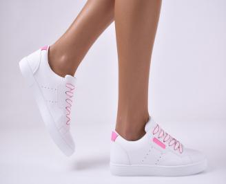 Дамски спортни обувки бели SFZE-1014160