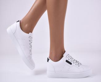 Дамски спортни обувки бели SYFW-1014161